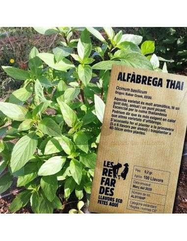Semillas Ecológicas Albahaca Thai 0,2g.