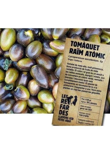 Semillas Ecológicas Tomate Racimo Atómico