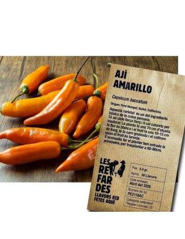 Semillas Ecológicas Ají Amarillo