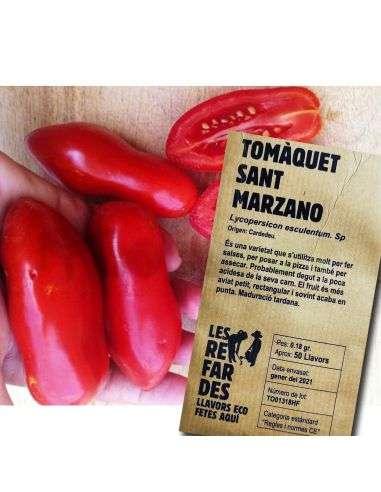 Semillas Ecológicas Tomate San Marzano