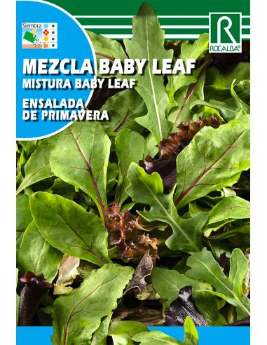 Semillas Mezcla Baby Leaf - Ensalada de Primamvera