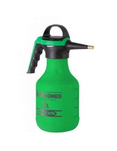 Pulverizador 2 litros presión previa con lanza metálica