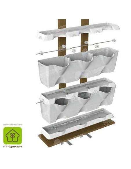 Jardín vertical Minigarden Blanco MiniGarden - 12