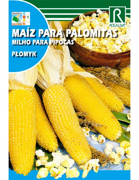 Semillas de Maíz para Palomitas Plomyk 10g.