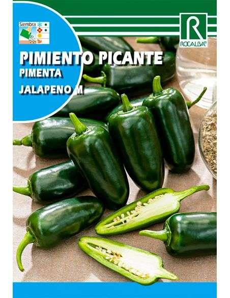 Semillas de Pimiento Picante Jalapeño 0,5g.