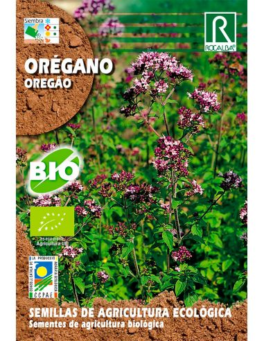 Semillas de Orégano Ecológicas 0,2g.