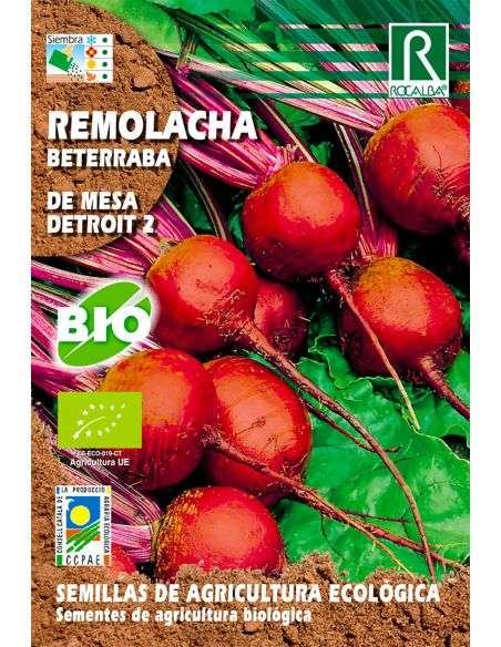 Semillas de Remolacha Detroit 2 Ecológicas 5g.