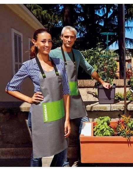 Delantal jardinería en poliester lavable