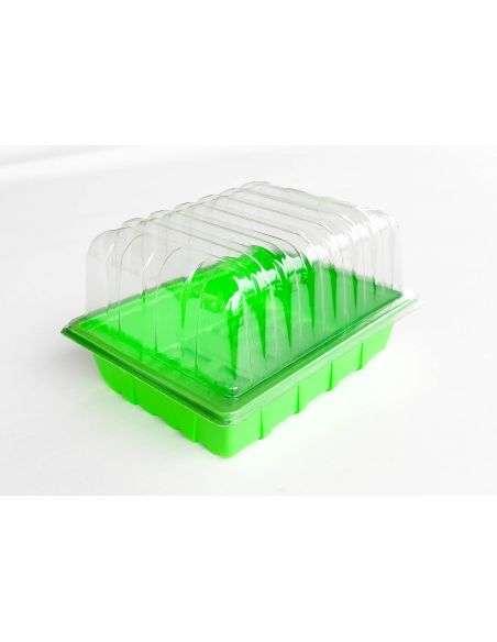 1u. Mini invernaderos ligeros peq. 23x18x13cm.