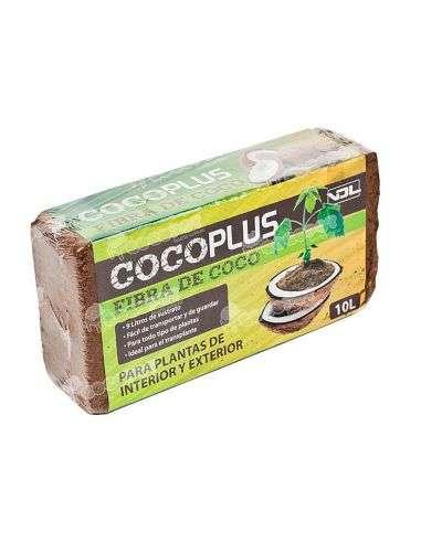 Fibra de Coco 10 litros COCOPLUS