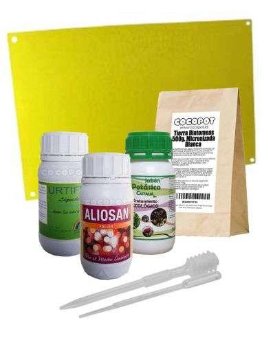 Pack Tratamiento Anti-Insectos Huerto Ecológico Pequeño