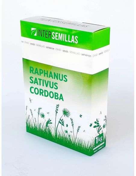 Semillas Planta Biocida Nematodos (Raphanus Sativus) 1Kg. Abono verde Ecológica