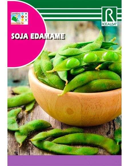 Semillas de Soja Edamame 6g.