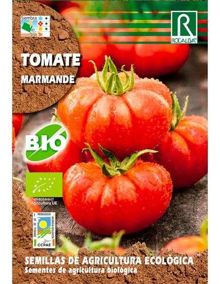 Semillas Ecológicas de Tomate Marmande 0,2g.