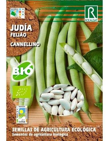Semillas Ecológicas de Judía Cannellino 15g.