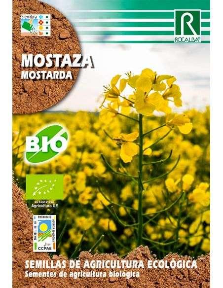 Semillas Ecológicas de Mostaza 5g.