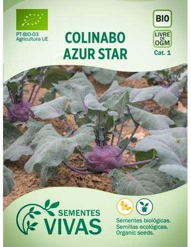 "Semillas Ecológicas Colinabo ""Azur Star"" Colirrábano"