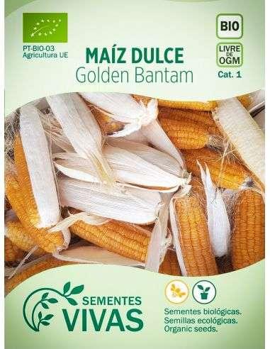 Semillas Ecológicas Maíz Dulce Golden Bantam