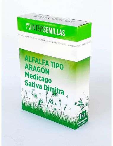 Semillas Ecológicas Abono Verde Alfalfa Forrajera (Medicago Sativa Dimitra) 1Kg.