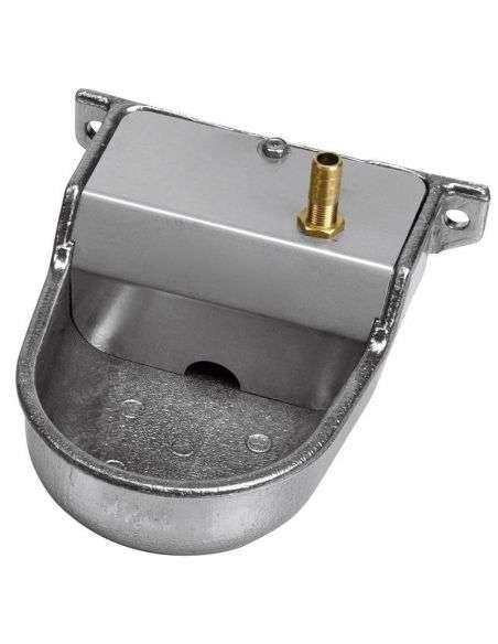 Bebedero para Perros Aluminio, tamaño M Baja presión entrada vertical