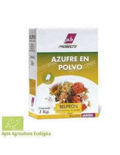 Azufre en Polvo 1Kg Micronizado 80% Probeltefito - 1