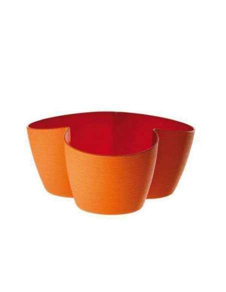 Portamacetas Asso3 Naranja 3x10cm. ERBA - 1