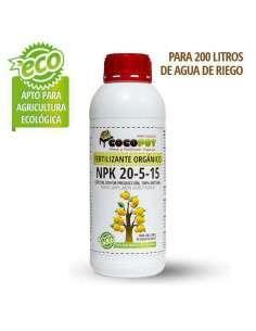 Fertilizante Orgánico NPK 20-5-15 COCOPOT - 1