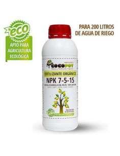 Fertilizante Orgánico NPK 7-5-15 COCOPOT - 1
