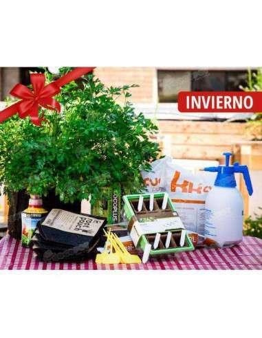 Kit Iniciación Huerto en Macetas Siembra Invierno