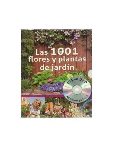 1001 Flores y Plantas de Jardín (con DVD) De Vecchi - 1