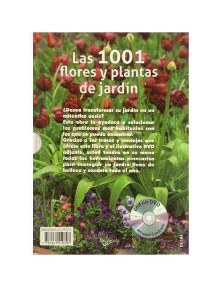 1001 Flores y Plantas de Jardín (con DVD) De Vecchi - 2