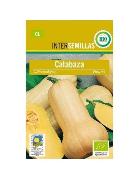 Semillas de Calabaza Violina Ecológicas INTERSEMILLAS - 1
