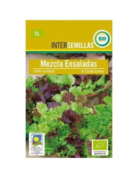 Semillas de Lechuga Mezcla Ensaladas Ecológicas INTERSEMILLAS - 1