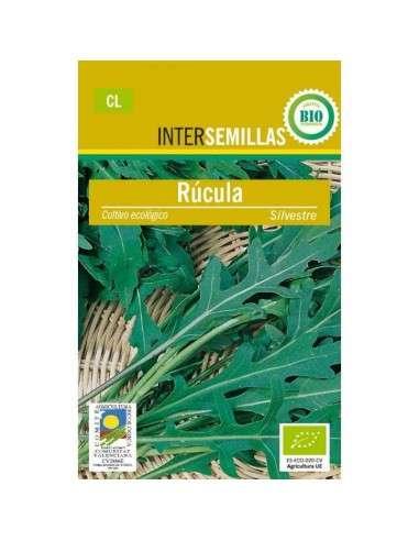 Semillas de Rúcula Silvestre Ecológicas INTERSEMILLAS - 1