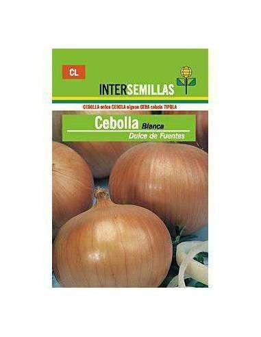 Semillas de Cebolla Blanca de Fuentes 7gr. INTERSEMILLAS - 1