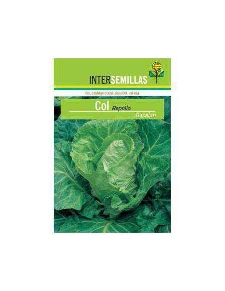 Semillas de Col Repollo Bacalán 8gr. INTERSEMILLAS - 2