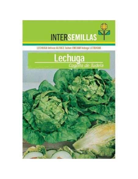 Semillas de Lechuga Cogollo de Tudela 8gr. INTERSEMILLAS - 1