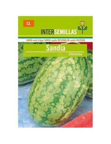 Semillas de Sandía Klondike 10gr. INTERSEMILLAS - 1