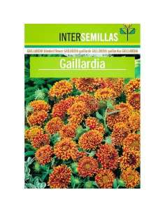 Semillas de Gaillardia INTERSEMILLAS - 1
