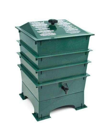Vermicompostador Verde COCOPOT - 1