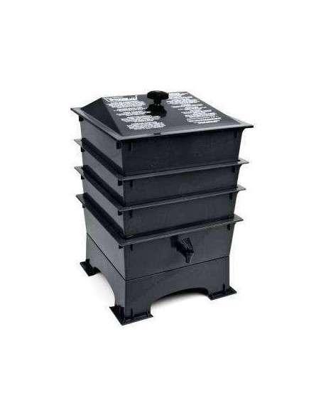 Vermicompostador Negro COCOPOT - 25