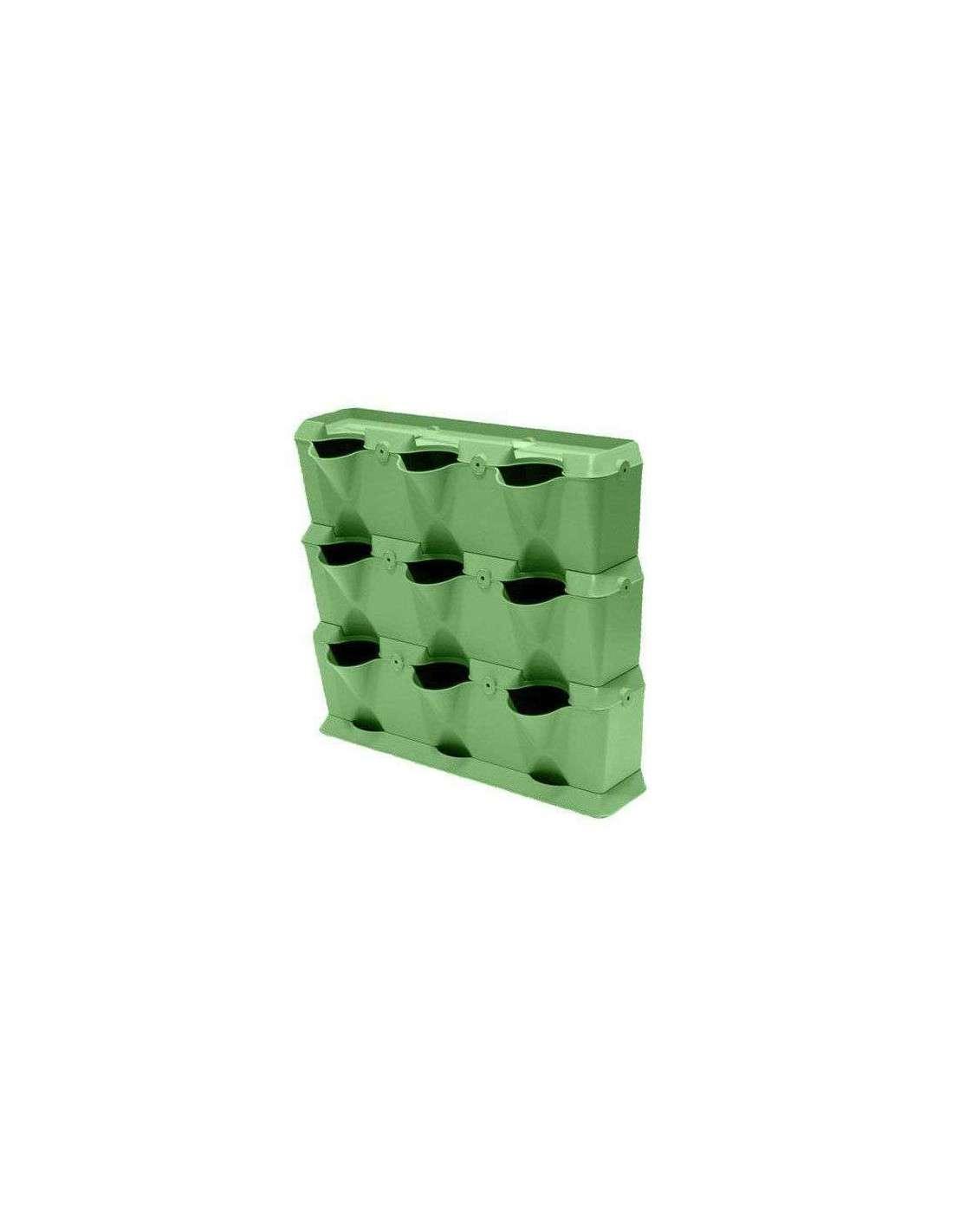 Minigarden verde solo 48 25 en cocopot huerto urbano for Jardin vertical sodimac