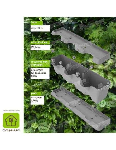 Jardín vertical Minigarden Verde MiniGarden - 8