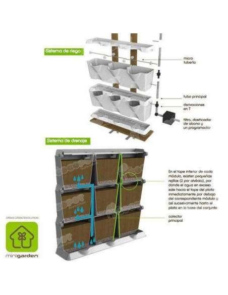 Jardín vertical Minigarden Verde MiniGarden - 11