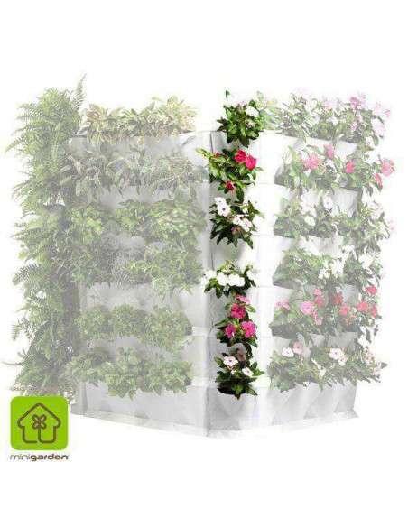 Minigarden Corner Blanco Jardín vertical MiniGarden - 6