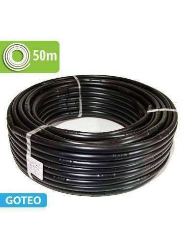 Tubería Riego con Goteros Integrados 50m a 33cm 2,1l/h.