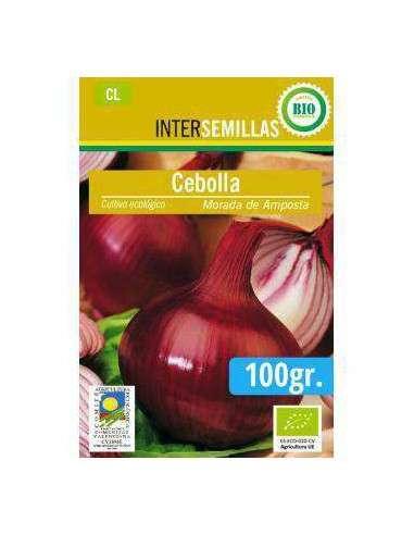 Semillas de Cebolla Morada de Amposta Ecológicas 100gr. INTERSEMILLAS - 1