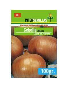 100gr. Semillas Cebolla Blanca de Fuentes