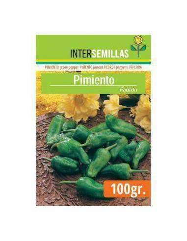 Semillas de Pimiento Padrón 100gr. INTERSEMILLAS - 1