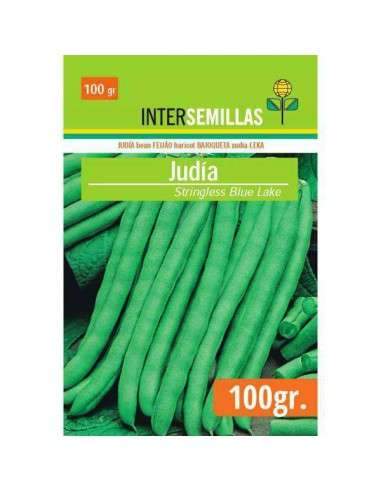 Semillas Judías Stringless Blue Lake 100g.